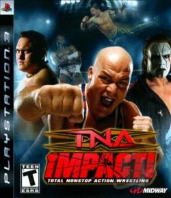 TNA Impact! PS3 Cover Art
