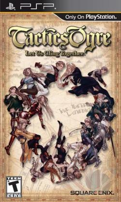 Tactics Ogre: Let Us Cling Together PSP Cover Art