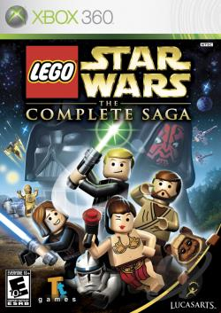 LEGO Star Wars: The Complete Saga XB360 Cover Art