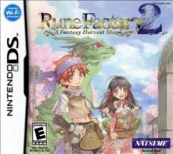 Rune Factory 2: A Fantasy Harvest Moon NDS Cover Art