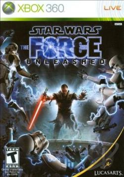 Star Wars: The Force Unleashed XB360 Cover Art