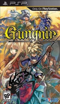 Gungnir PSP Cover Art