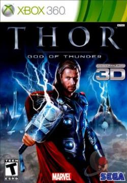 Thor: God of Thunder XB360 Cover Art