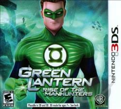 Green Lantern: Rise of the Manhunters 3DS Cover Art