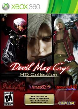 Devil May Cry HD Collection XB360 Cover Art
