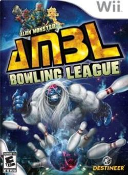 Alien Monster Bowling WII Cover Art