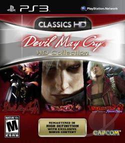 Devil May Cry HD Collection PS3 Cover Art