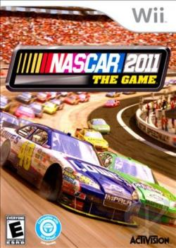 NASCAR The Game 2011 WII Cover Art