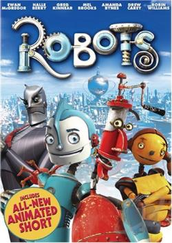 Robots DVD Cover Art
