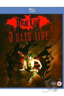 Meat Loaf - 3 Bats Live BRAY Cover Art
