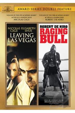 MGM Best Actor Double Feature: Raging Bull/Leaving Las Vegas DVD Cover Art