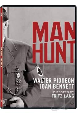 Man Hunt DVD Cover Art
