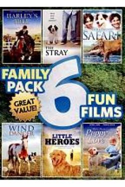Family Pack: 6 Fun Films DVD Cover Art