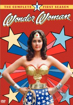 Wonder Woman - The Complete First Season DVD Cover Art