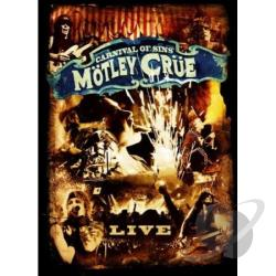 Motley Crue - Carnival Of Sins Live DVD Cover Art