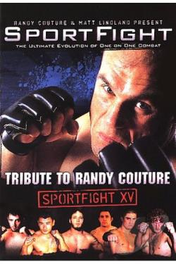 Sportfight: Tribute To Randy Couture DVD Cover Art