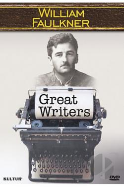 Great Writers: William Faulkner DVD Cover Art