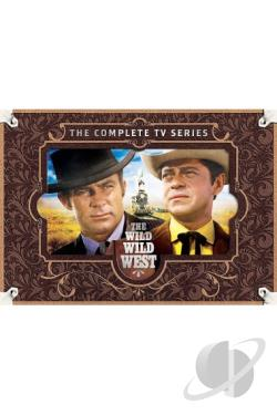 Wild Wild West - The Complete Series DVD Cover Art