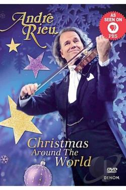 Andre Rieu - Christmas Around the World DVD Cover Art