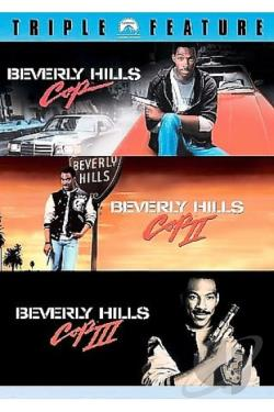 Beverly Hills Cop Collection DVD Cover Art