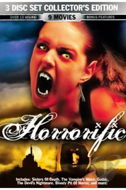 Horrorific DVD Cover Art