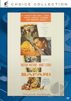 Safari DVD Cover Art