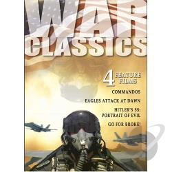 War Classics - Vol. 2: 4 Feature Films DVD Cover Art