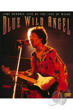 Jimi Hendrix - Blue Wild Angel: Live at the Isle of Wight DVD Cover Art
