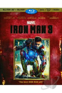 Iron Man 3 BRAY Cover Art