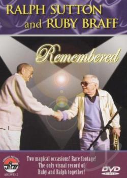 Ralph Sutton and Ruby Braff Remembered DVD Cover Art