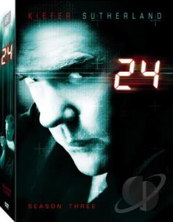 24 - The Complete Third Season DVD Cover Art