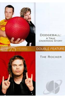 Dodgeball/The Rocker DVD Cover Art