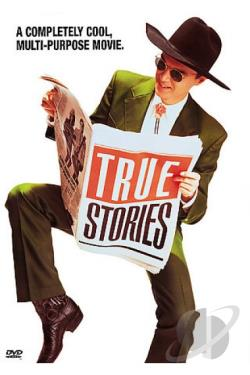 True Stories DVD Cover Art