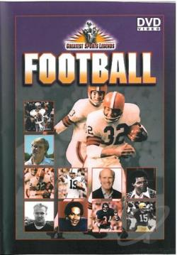 Greatest Sports Legends - Football DVD Cover Art
