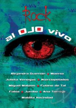 Rock Al Ojo Vivo DVD Cover Art
