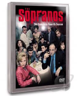 Sopranos - The Complete Fourth Season DVD Cover Art