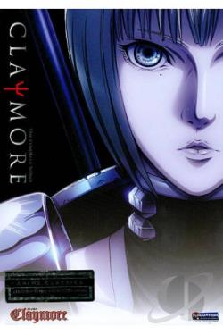 Claymore - The Complete Series DVD Cover Art