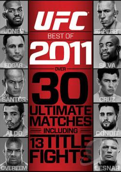 UFC: Best of 2011 DVD Cover Art