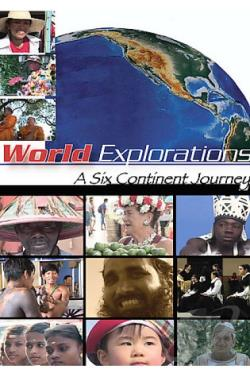 World Explorations - A Six Continent Journey DVD Cover Art