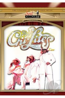 Chi-Lites- Live In Concert DVD Cover Art