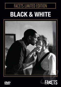 Black and White DVD Cover Art