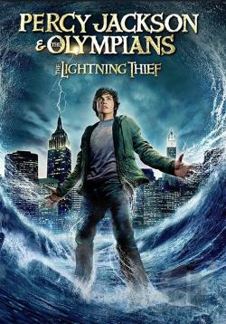 Percy Jackson & the Olympians: The Lightning Thief DVD Cover Art