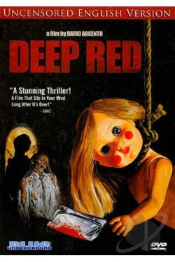 Deep Red: The Hatchet Murders DVD Cover Art