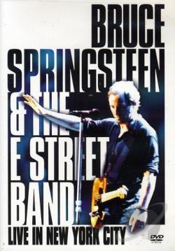 Bruce Springsteen & the E Street Band - Live in New York City DVD Cover Art