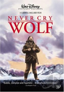 Never Cry Wolf DVD Cover Art