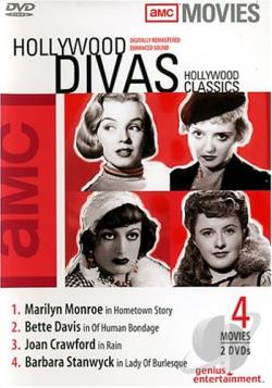 Amc - Hollywood Classics: Hollywood Divas DVD Cover Art