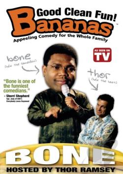 Bananas Comedy - Bone DVD Cover Art