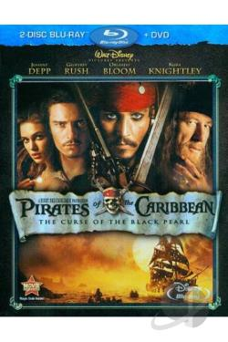 Pirates of the Caribbean: The Curse of the Black Pearl BRAY Cover Art