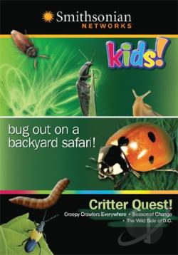 Critter Quest! DVD Cover Art