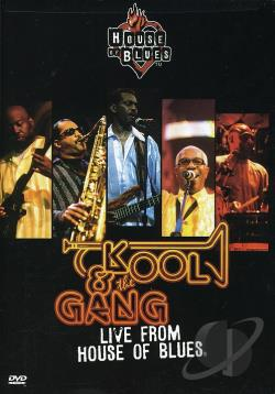 Kool & The Gang - Live From House Of Blues DVD Cover Art